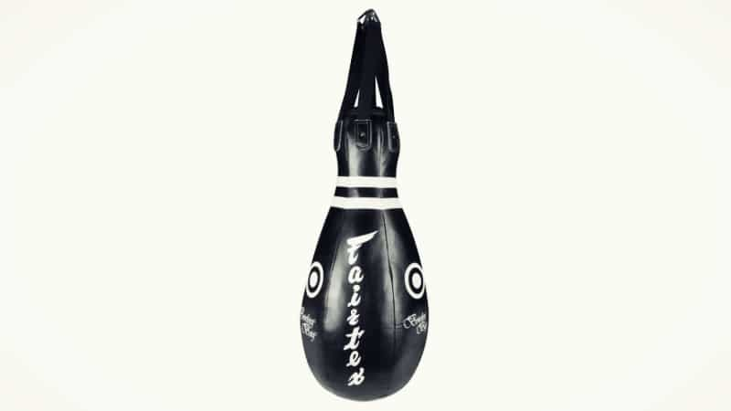 Black Bowling Pin shaped Punching Bag