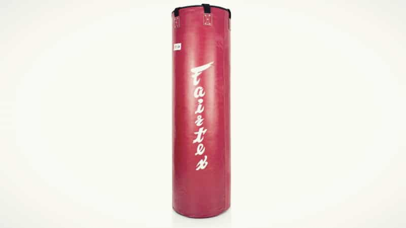 Red Pole Style Punching Bag
