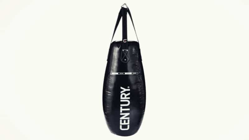 Black Teardrop style Punching Bag